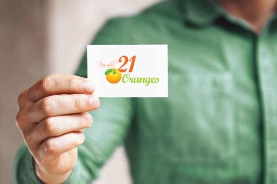 Contato Pousada 21 Oranges